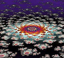 """""""Galactic Flower' by Scott Bricker"""
