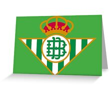 Real Betis Balompié Greeting Card