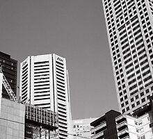 Melbourne, patch-work city 2 by StolenName
