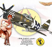 War Eagle - P47D Thunderbolt by A. Hermann