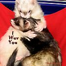 I WUV YOU by Visual   Inspirations