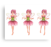 Floral Fairy 2 Canvas Print