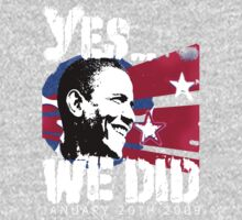 Barack Obama - Yes We Did 20/01/2009 01/20/2009 by MVP1