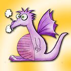 Matilda the dragon by Purrnickerty