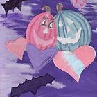 Pumpkin Couple-hood by LadyRm