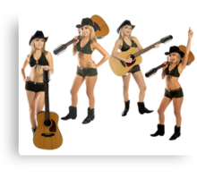 Luv That Country Music Canvas Print