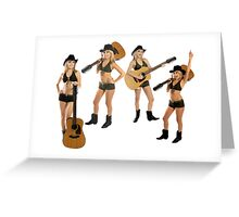 Luv That Country Music Greeting Card