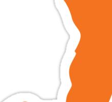 Slam Dunk Orange Sticker