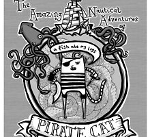Pirate Cat by lauriepink