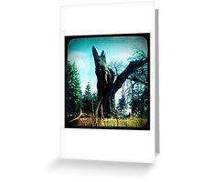 Ttv: Tree Dead Center Greeting Card