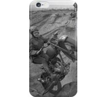Motorcycle Jumps iPhone Case/Skin