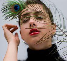 Lady Peacock by Tatiana R