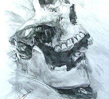 Skull Study by Josh Bowe