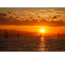 Under the Sails Photographic Print