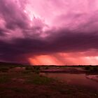 Storms over Africa by Chris  Ridley
