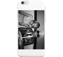 Anna Wintour Karl Lagerfeld Middle Finger iPhone Case/Skin