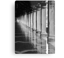 FLOODED ST MARKS SQUARE  Metal Print