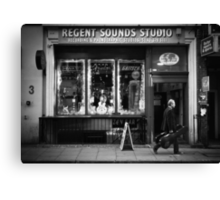 regent sound Canvas Print