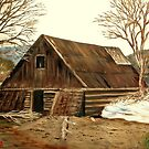 Old Barn by KenLePoidevin
