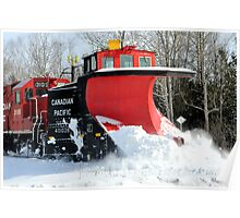 Snow Plow Poster