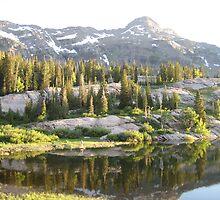 Sunny Lake by George Lloyd