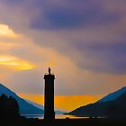 Glefinnan Monument by Richard Ion
