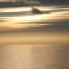 The English Channel at Dusk by Barry Goble