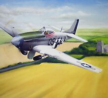 P51 Mustang by Spencer Trickett