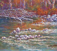 'Goulburn Riverbank, Seymour' by Helen Miles