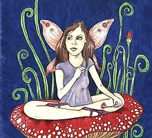 Amethyst Fairy by Anita Inverarity