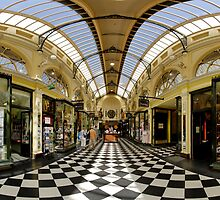 Arcade of Yesteryear melbourne by snappytwo