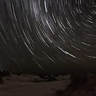 Birubi Beach Star Trails by Mike Salway