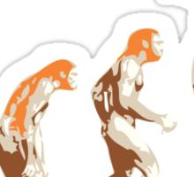 Ginger evolution Sticker