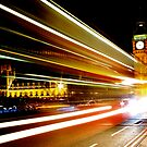 BIG BEN NIGHT BUS by Scott  d&#x27;Almeida