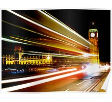 BIG BEN NIGHT BUS Poster