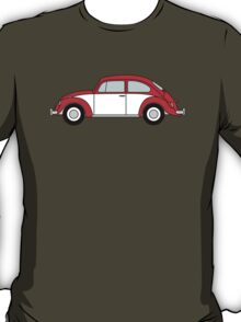 Vw Beetle T Shirt Red T-Shirt