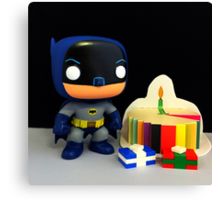 Batman '66 Birthday Canvas Print
