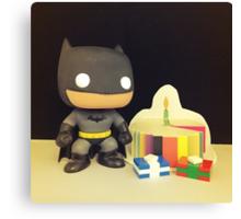 Batman Birthday Canvas Print