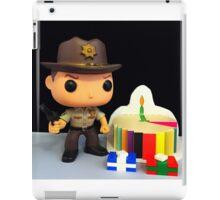 Rick Grimes Birthday iPad Case/Skin