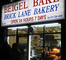 Beigel bake 24 hour.. Brick lane by fruitcake