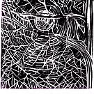 Lino Cut Print 2 by Catherine  Howell
