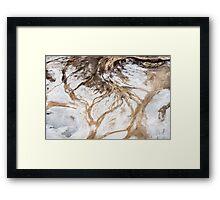 Kati Thanda Watercolour Abstract #1 Framed Print