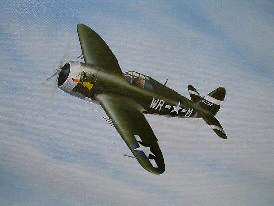 P47 Thunderbolt by Spencer Trickett