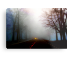 Distant Headlights Metal Print