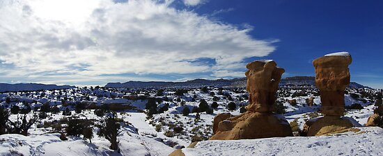 Devils Garden, Winter by Brian Hendricks