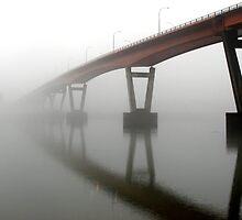 Fog on the River by Tamara Brandy