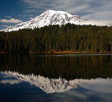 Reflection Lake by Olga Zvereva