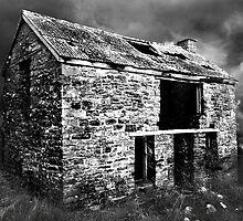 Atmospheric Barn by Trevor Kersley