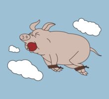 When Pigs Fly Kids Clothes