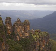 The Three Sisters @ Echo Point, Katoomba - Blue Mountains (NSW) by Joseph Colella